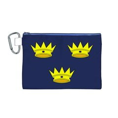 Flag of Irish Province of Munster Canvas Cosmetic Bag (M)