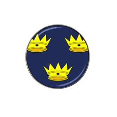 Flag of Irish Province of Munster Hat Clip Ball Marker (4 pack)