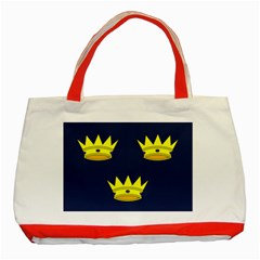 Flag Of Irish Province Of Munster Classic Tote Bag (red)
