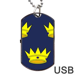 Flag of Irish Province of Munster Dog Tag USB Flash (Two Sides)