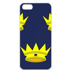 Flag of Irish Province of Munster Apple iPhone 5 Seamless Case (White)
