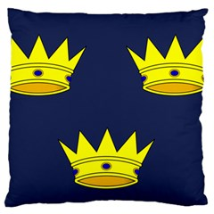 Flag of Irish Province of Munster Standard Flano Cushion Case (Two Sides)