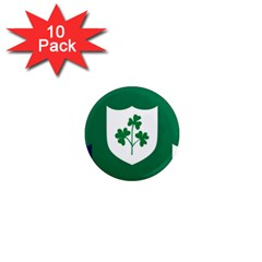 Ireland National Rugby Union Flag 1  Mini Magnet (10 pack)