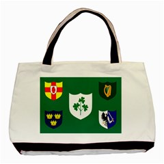 Ireland National Rugby Union Flag Basic Tote Bag (Two Sides)