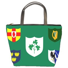 Ireland National Rugby Union Flag Bucket Bags