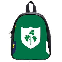 Ireland National Rugby Union Flag School Bags (Small)