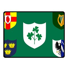 Ireland National Rugby Union Flag Fleece Blanket (Small)