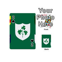 Ireland National Rugby Union Flag Playing Cards 54 (Mini)