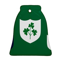 Ireland National Rugby Union Flag Ornament (Bell)