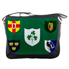 Ireland National Rugby Union Flag Messenger Bags