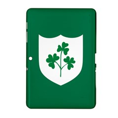 Ireland National Rugby Union Flag Samsung Galaxy Tab 2 (10.1 ) P5100 Hardshell Case