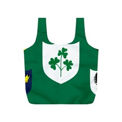 Ireland National Rugby Union Flag Full Print Recycle Bags (s)