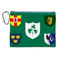 Ireland National Rugby Union Flag Canvas Cosmetic Bag (XXL)