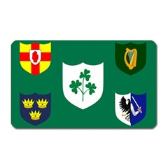 Ireland National Rugby Union Flag Magnet (Rectangular)