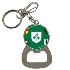 Ireland National Rugby Union Flag Button Necklaces