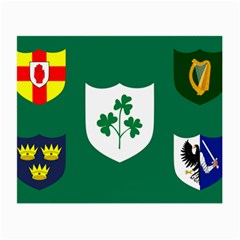 Ireland National Rugby Union Flag Small Glasses Cloth (2-Side)