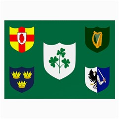 Ireland National Rugby Union Flag Large Glasses Cloth