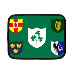 Ireland National Rugby Union Flag Netbook Case (Small)