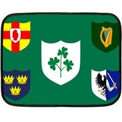 Ireland National Rugby Union Flag Double Sided Fleece Blanket (Mini)
