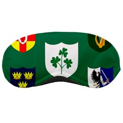 Ireland National Rugby Union Flag Sleeping Masks