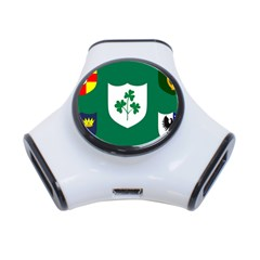 Ireland National Rugby Union Flag 3-Port USB Hub
