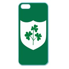 Ireland National Rugby Union Flag Apple Seamless iPhone 5 Case (Color)