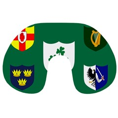 Ireland National Rugby Union Flag Travel Neck Pillows