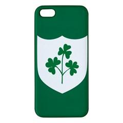 Ireland National Rugby Union Flag iPhone 5S/ SE Premium Hardshell Case