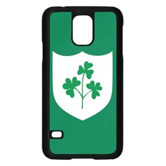 Ireland National Rugby Union Flag Samsung Galaxy S5 Case (Black)