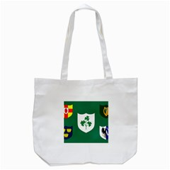 Ireland National Rugby Union Flag Tote Bag (White)