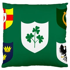 Ireland National Rugby Union Flag Standard Flano Cushion Case (Two Sides)