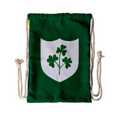 Ireland National Rugby Union Flag Drawstring Bag (Small)