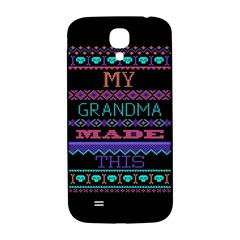 My Grandma Made This Ugly Holiday Black Background Samsung Galaxy S4 I9500/I9505  Hardshell Back Case