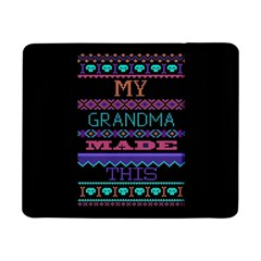 My Grandma Made This Ugly Holiday Black Background Samsung Galaxy Tab Pro 8 4  Flip Case