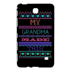 My Grandma Made This Ugly Holiday Black Background Samsung Galaxy Tab 4 (7 ) Hardshell Case