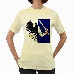 Flag of Connacht Women s Yellow T-Shirt