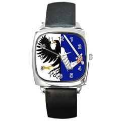 Flag of Connacht Square Metal Watch