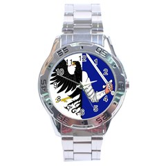 Flag of Connacht Stainless Steel Analogue Watch