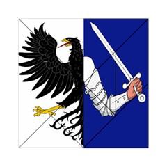 Flag of Connacht Acrylic Tangram Puzzle (6  x 6 )