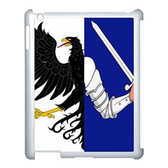Flag of Connacht Apple iPad 3/4 Case (White)