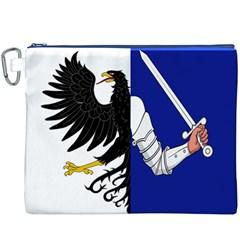Flag of Connacht Canvas Cosmetic Bag (XXXL)