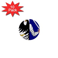 Flag of Connacht 1  Mini Buttons (10 pack)