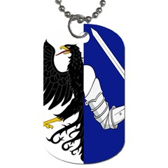 Flag of Connacht Dog Tag (Two Sides)