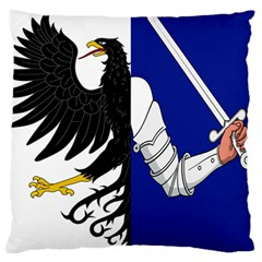 Flag of Connacht Large Cushion Case (Two Sides)