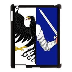Flag of Connacht Apple iPad 3/4 Case (Black)