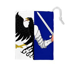 Flag of Connacht Drawstring Pouches (Large)
