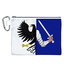 Flag of Connacht Canvas Cosmetic Bag (L)