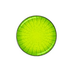 Radial Green Crystals Crystallize Hat Clip Ball Marker (4 pack)
