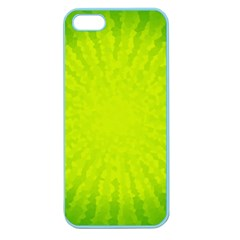 Radial Green Crystals Crystallize Apple Seamless iPhone 5 Case (Color)