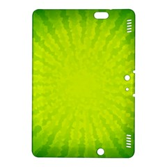 Radial Green Crystals Crystallize Kindle Fire HDX 8.9  Hardshell Case